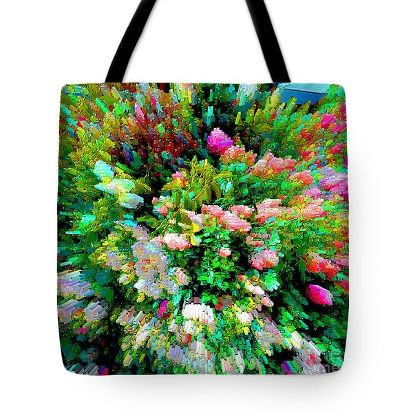 Garden Explosion Tote Bag by Alys Caviness-Gober