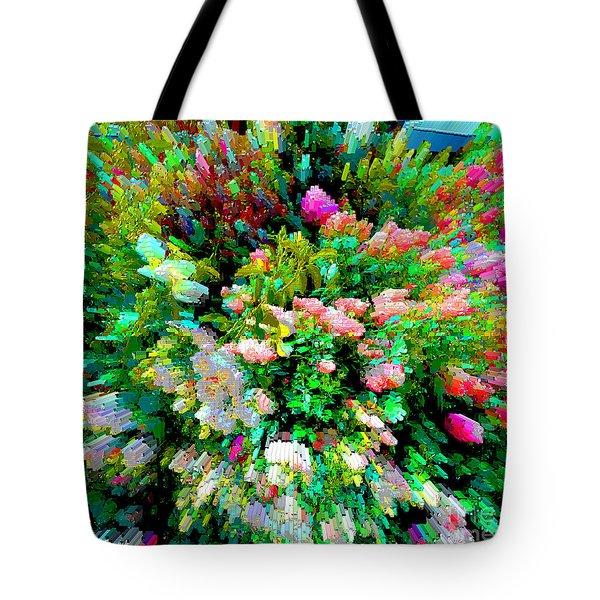 Garden Explosion Tote Bag
