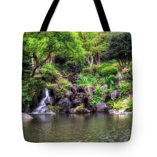 Garden Green Tote Bag