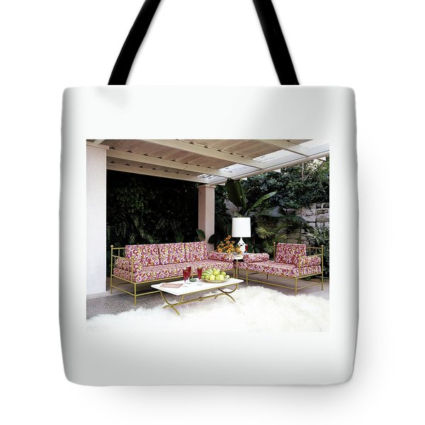 Garden-guest Room At The Chimneys Tote Bag