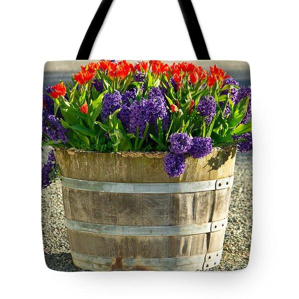 Garden In A Bucket Tote Bag by Eti Reid