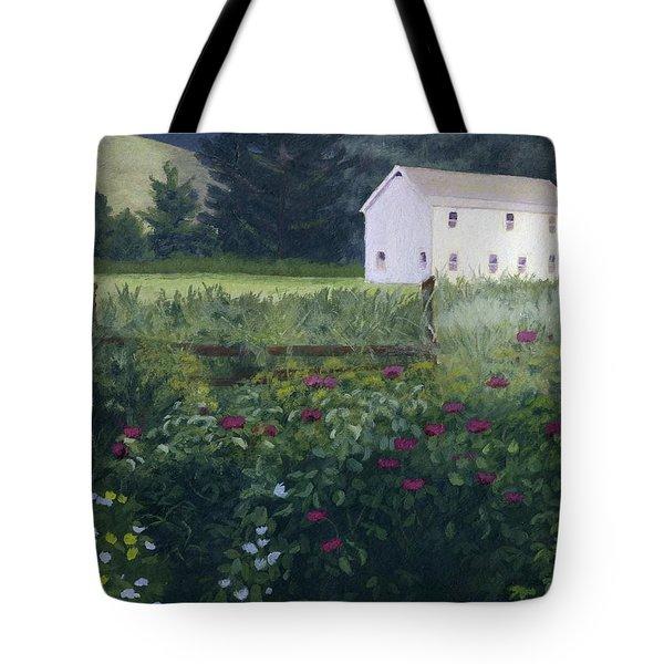 Garden In The Back Tote Bag