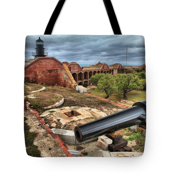 Garden Key Light Defense Tote Bag by Adam Jewell