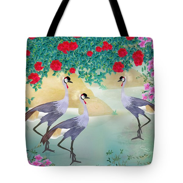Garden Light - Limited Edition Of 15 Tote Bag by Gabriela Delgado