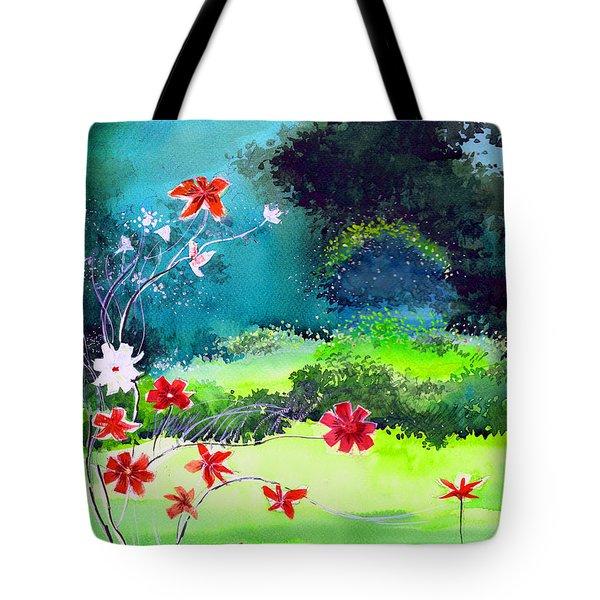 Garden Magic Tote Bag by Anil Nene