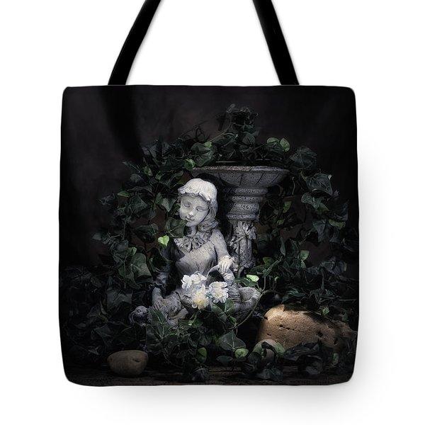 Garden Maiden Tote Bag