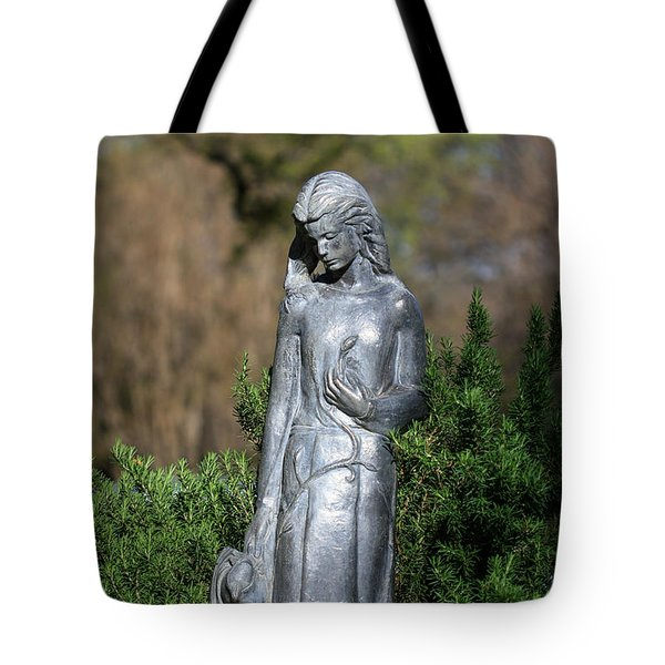 Garden Maiden Tote Bag by Toma Caul