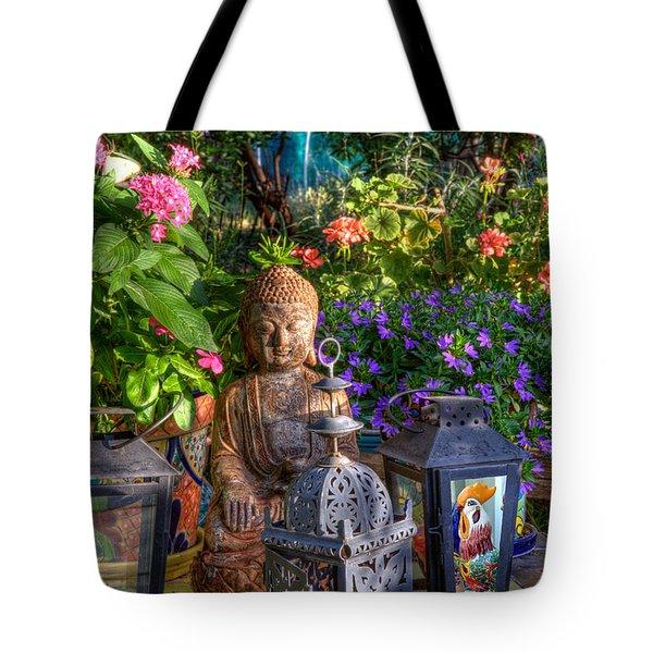 Garden Meditation Tote Bag