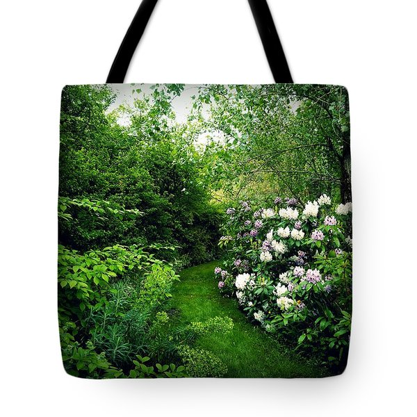 Tote Bag featuring the photograph Garden Of Enchantment by Patricia Strand