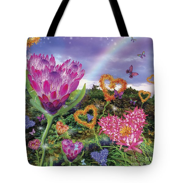 Garden Of Love 2 Tote Bag by Alixandra Mullins