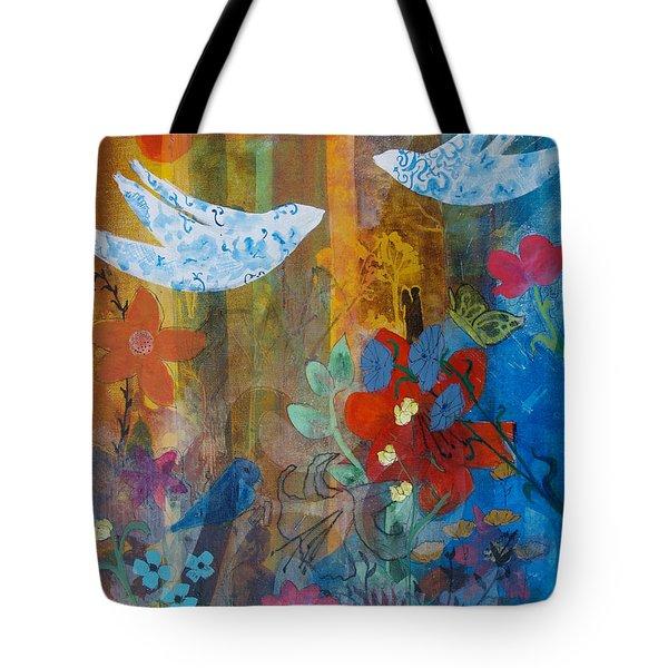 Garden Of Love Tote Bag