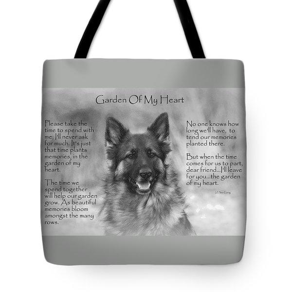 Garden Of My Heart Tote Bag