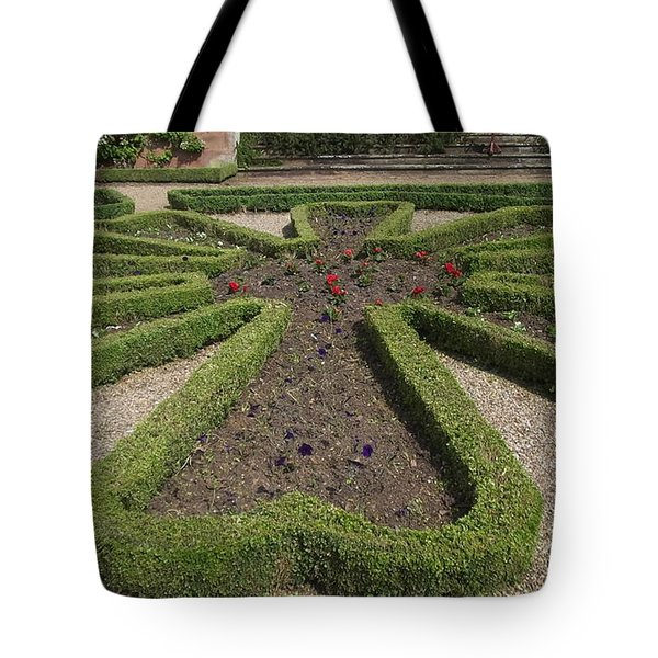 Garden Of Peace Tote Bag by Tracey Williams