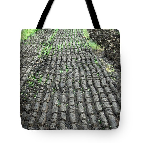 Tote Bag featuring the photograph Garden Of Peat by Brenda Brown