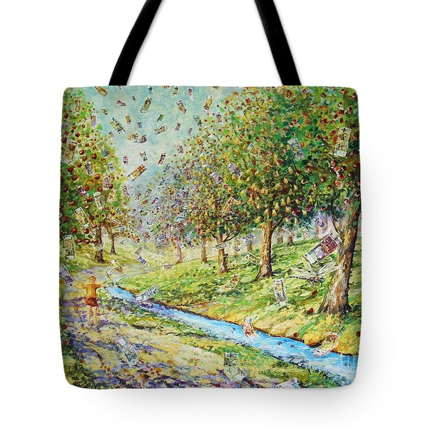 Garden Of Prosperity Tote Bag