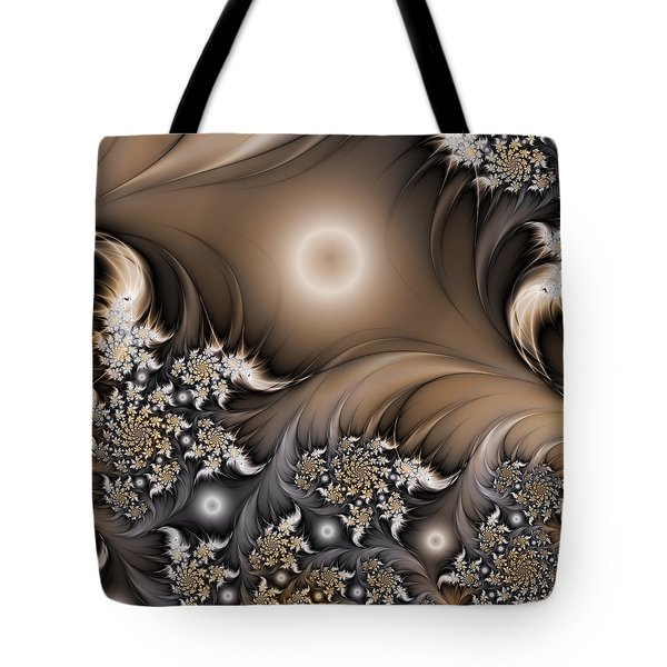 Tote Bag featuring the digital art Garden Of The Future by Gabiw Art