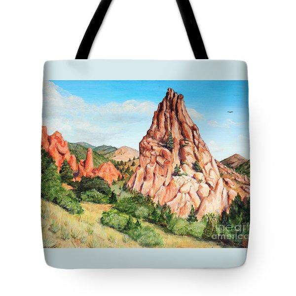 Kindergarten Rock - Garden Of The Gods Tote Bag