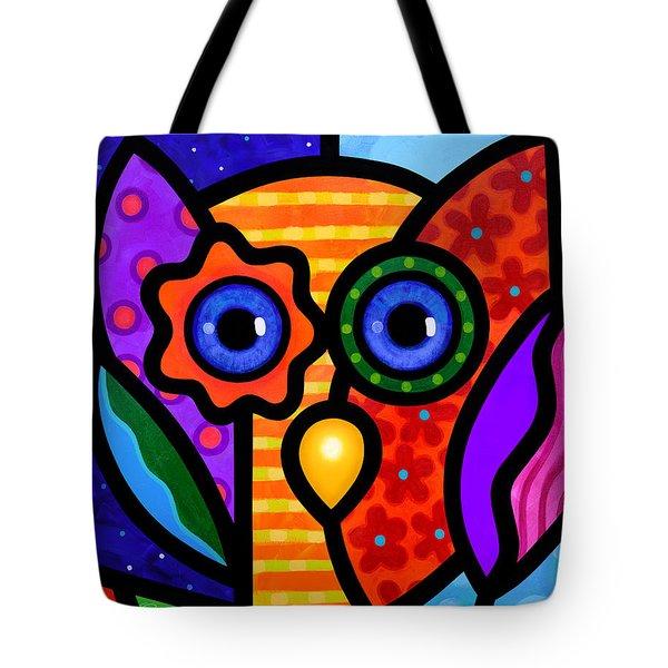 Garden Owl Tote Bag