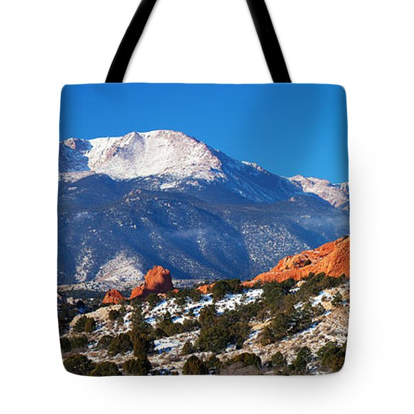 Garden Pano Tote Bag by Darren  White