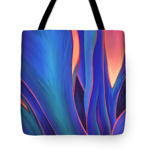 Tote Bag featuring the painting Garden Party by Sandi Whetzel