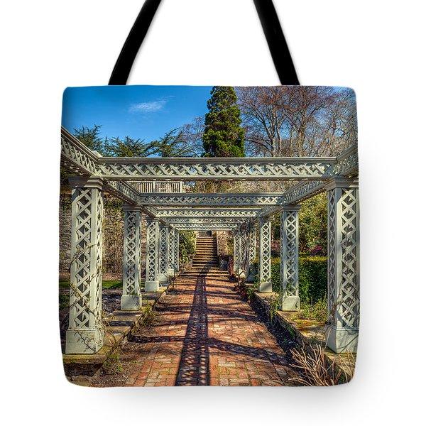 Garden Path Tote Bag by Adrian Evans