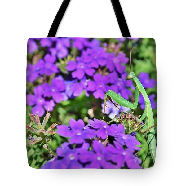 Garden Prayer Tote Bag