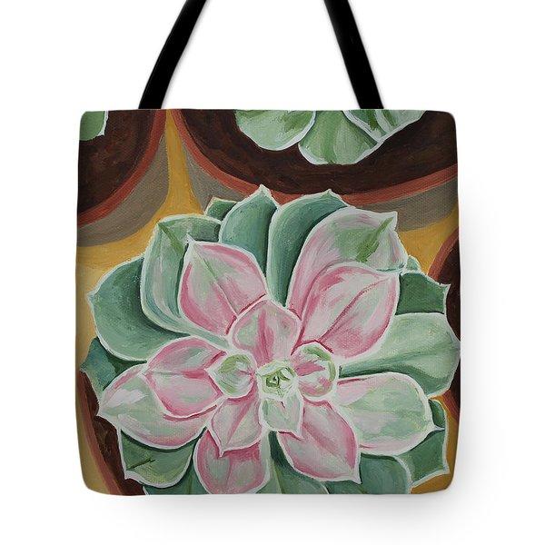 Garden Rossette Tote Bag