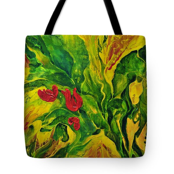 Garden Series No.2 Tote Bag by Teresa Wegrzyn