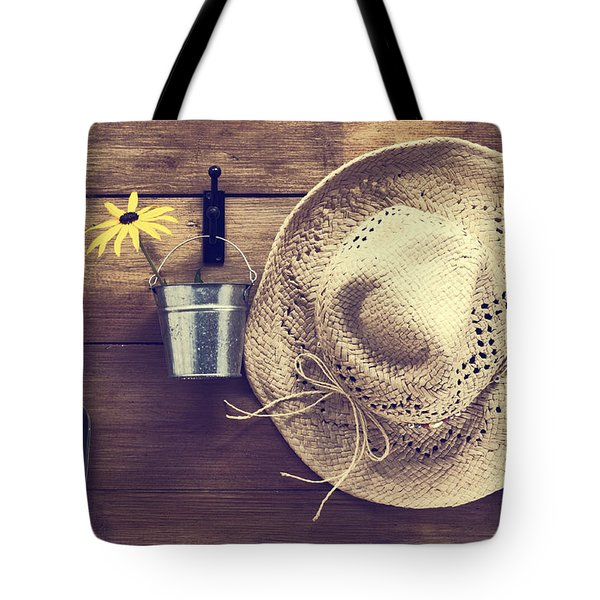 Garden Shed Tote Bag