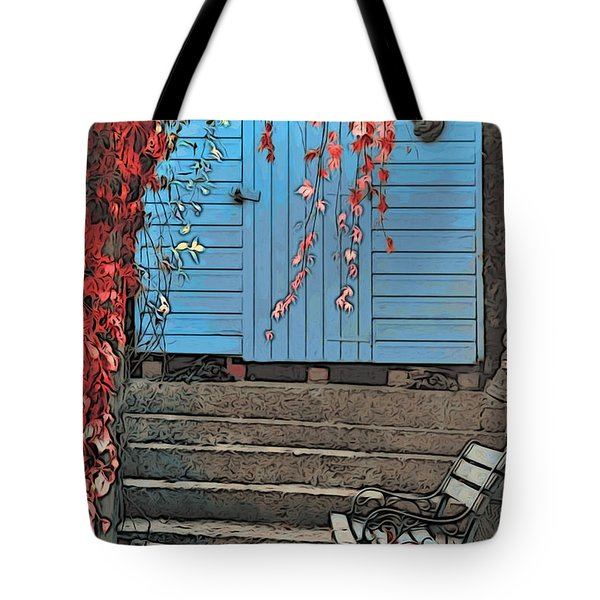 Garden Shed Tote Bag by Paul Stevens