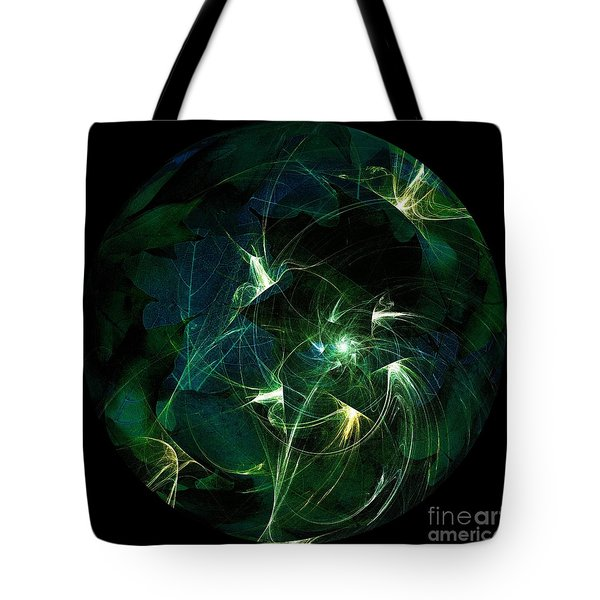 Garden Sprites Come At Night Tote Bag by Elizabeth McTaggart