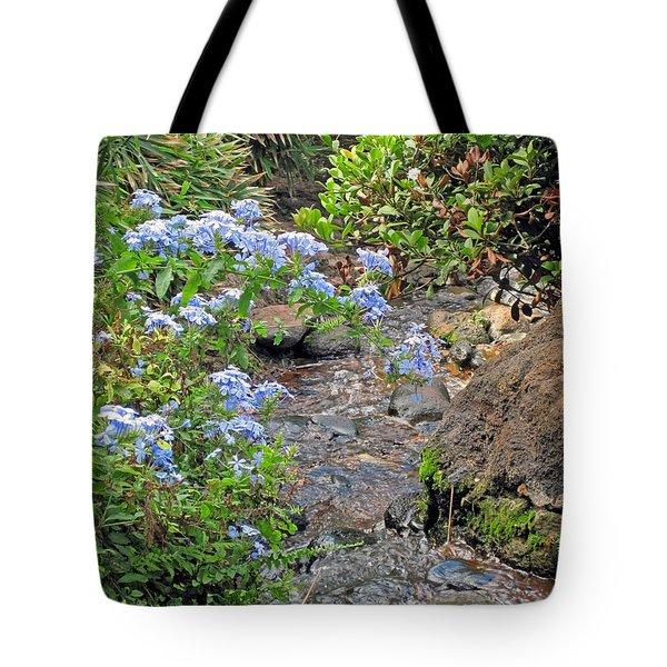 Garden Stream Tote Bag
