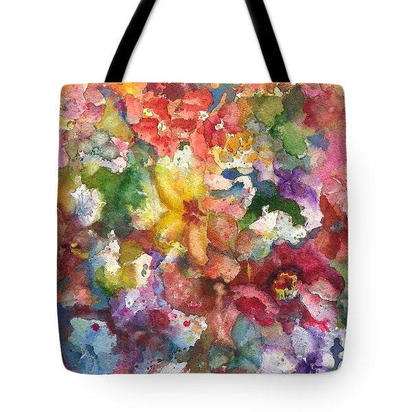 Garden - The Secret Life Of The Leftover Paint Tote Bag