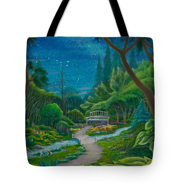 Garden Under Ursa Major Tote Bag