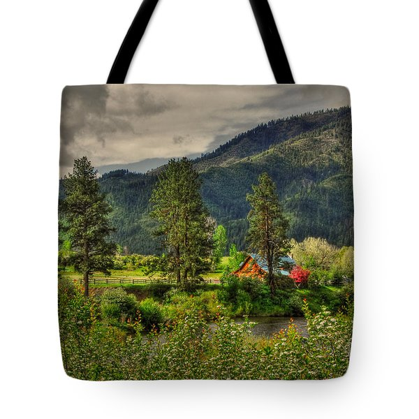 Garden Valley Tote Bag