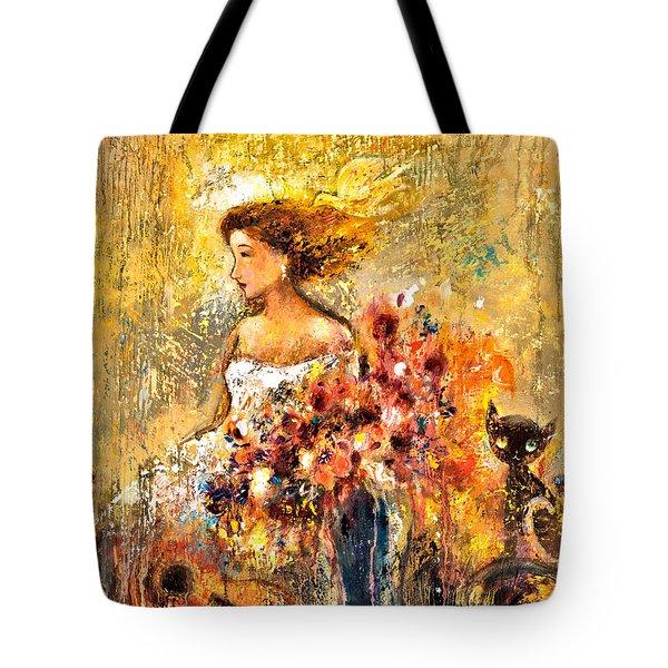 Garden Viii Tote Bag by Shijun Munns
