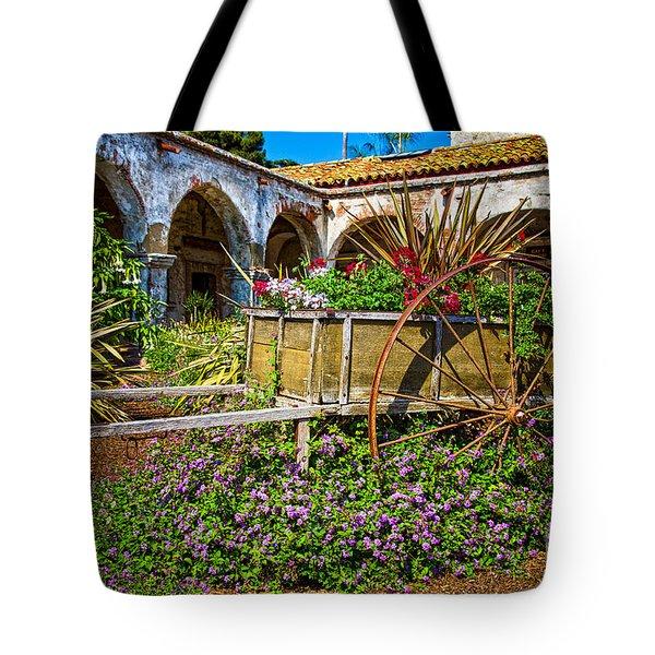 Garden Wagon Tote Bag