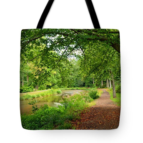 Garden Walk Tote Bag by Eva Kaufman