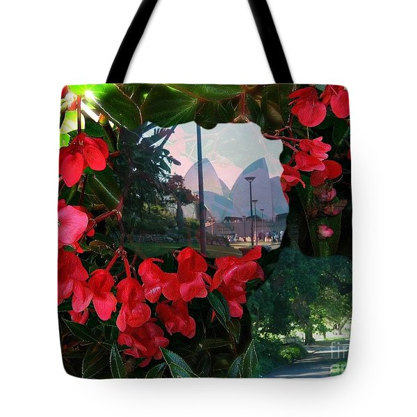 Tote Bag featuring the photograph Garden Whispers by Leanne Seymour