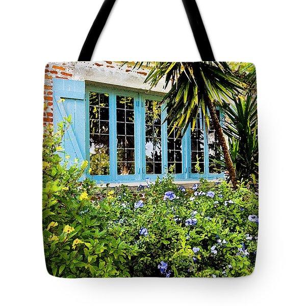 Garden Window Db Tote Bag by Rich Franco