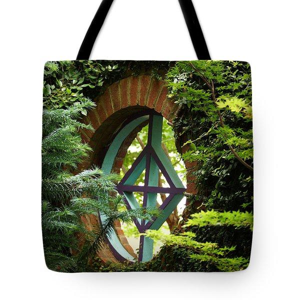 Garden Window Tote Bag by Kim Pate