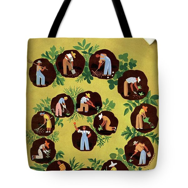 Gardeners And Farmers Tote Bag