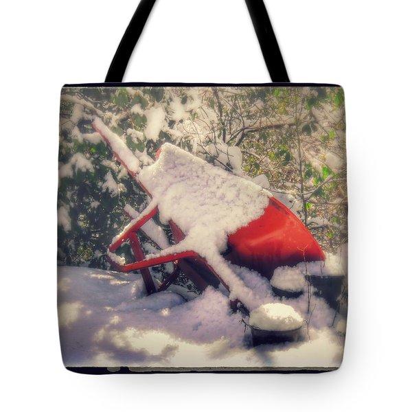 Gardener's Winter Dream Tote Bag
