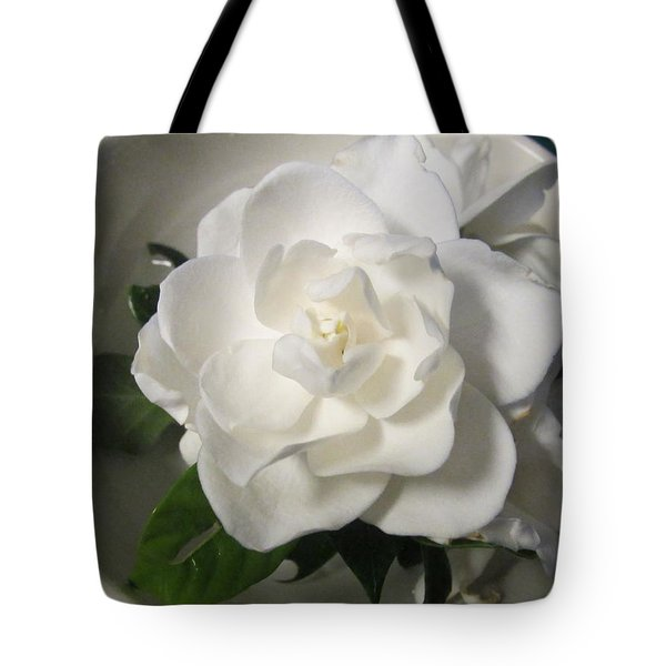 Gardenia Bowl Tote Bag by Deborah Lacoste