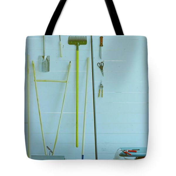 Gardening Tools Tote Bag