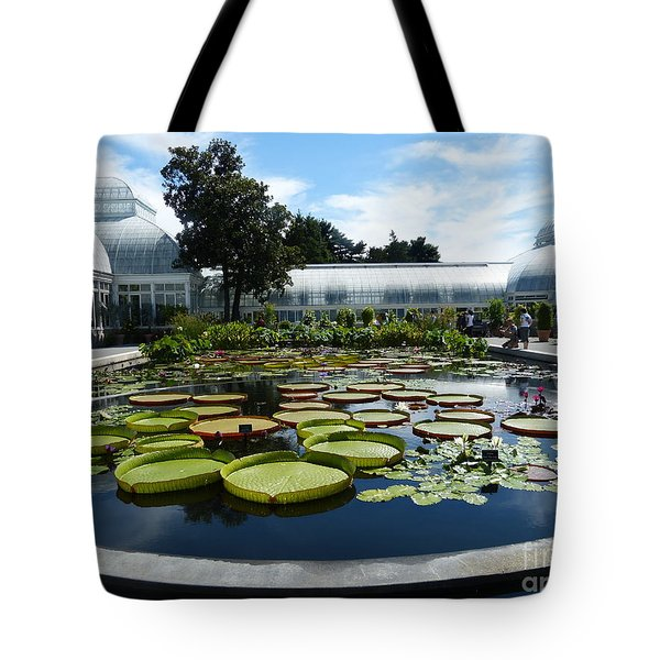 Pond Of Lilies Tote Bag