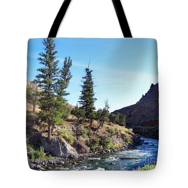 Gardiner River Tote Bag