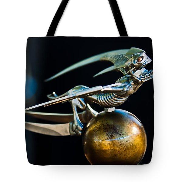Gargoyle Hood Ornament Tote Bag