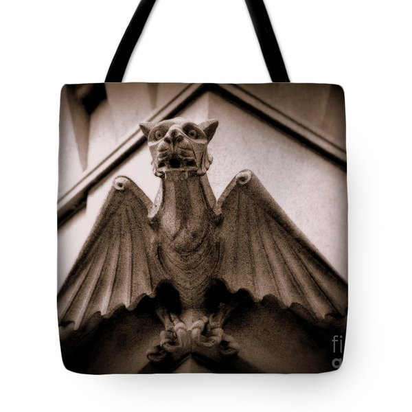 Gargoyle Tote Bag by Lisa L Silva
