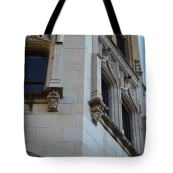 Tote Bag featuring the photograph Gargoyles by Shawn Marlow